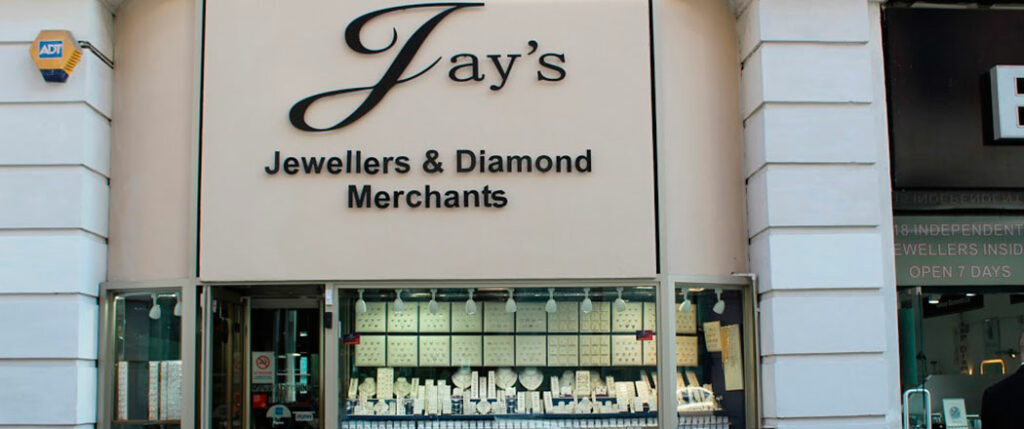 Jays Jewellers in Hatton Garden